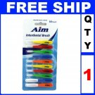 NEW 1 Pack AIM INTERDENTAL BRUSH PICKS (10 Brush/Lot)