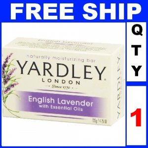 NEW 1 Bar Soap YARDLEY English Lavender Moisturizing (4.25oz/Bar)
