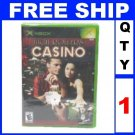 NEW 1 CASINO HIGH ROLLERS compatible Xbox & Xbox 360 Game (game only)