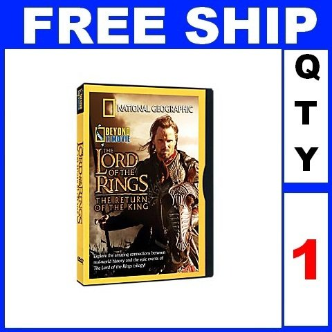 NEW 1 DVD LORD OF THE RING Beyond The Movie National Geographic