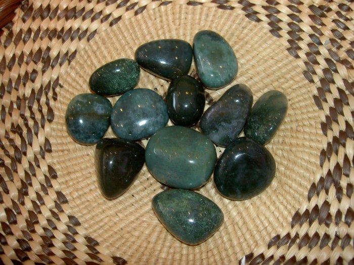 Moss Agate - the Gardeners Stone