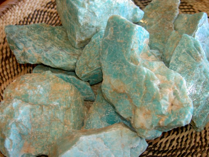 Amazonite - a stone of Truth and self-esteem