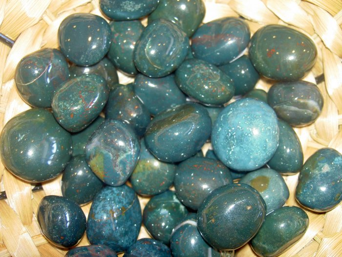 Bloodstone -  a stone for grounding, centering and mystical energies
