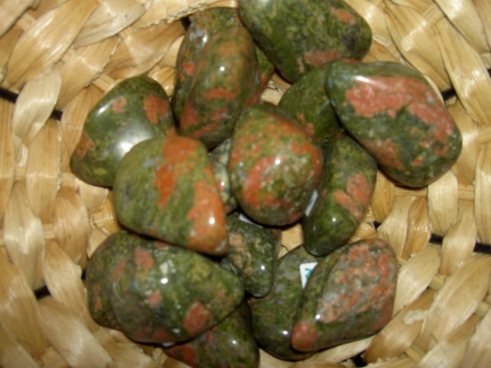 Unakite - for pregnancy,  childbirth and healing abandonment & separation issues
