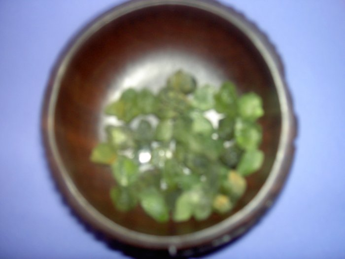 Peridot - for relieving jelousy, anger and stress in relationshils. Heightens ESP