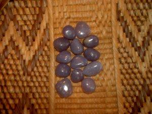 Lepidolite tumbles - the Peace Stone