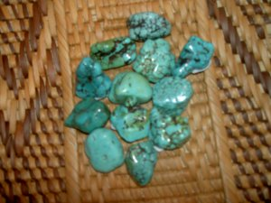 Turquoise - for opening the heart and strengthening the connection to spirit