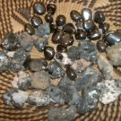 Hematite - great for grounding, balance and nervous problems