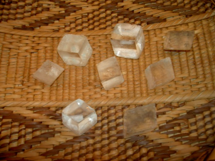 Optical Calcite - for clearing old energy patterns and distance healing