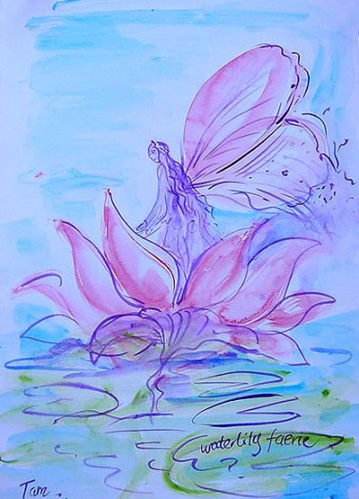 WaterLily Faerie
