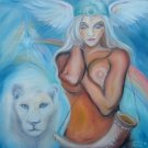 White Lion Goddess