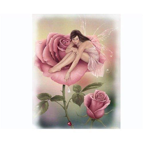 Queen Size Blanket - Pink Fairy