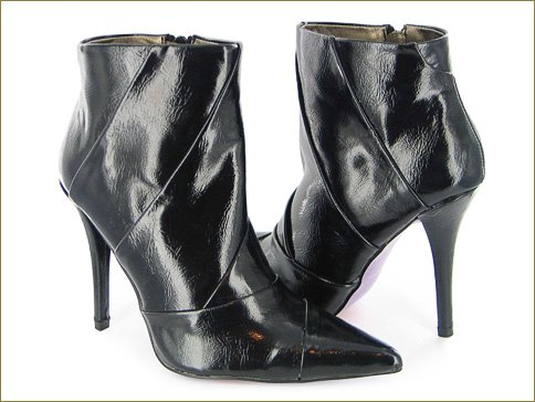 The Double Trim Black Boot