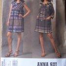 Vogue 1046 Anna Sui dress pattern V1046 size 6-12