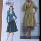 Vogue pattern V8284 or 8284 2 piece bridal or evening outfit  sizes 6-12 .