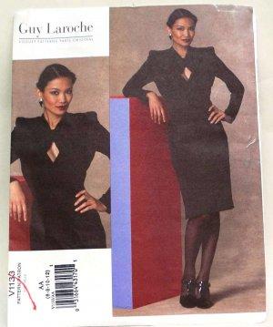 Vogue v1133 pattern 1133 Guy Laroche Art Deco or 1930s dress size 6-12 .