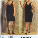 Donna Karan Vogue 1012 DKNY cocktail dress pattern v1012 size 6-12  .