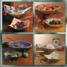 McCall's m4797 or 4797 fabric bowls craft pattern, origami like .