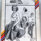 Stretch & Sew pattern 460 Flared and wrap skirts, disco, roller skate, ice skate, .
