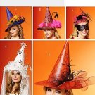 Butterick 5406 or B5406 pattern for witch hats, Halloween or Carnivale masks