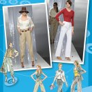 Simplicity 2477 Project Runway pattern cargo pants trousers 12-20 .