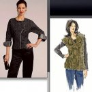 Vogue v1081 or pattern 1081 Sandra Betzina Today's Fit blouse, vest .