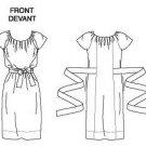 Vogue v1120 or 1120 DKNY Donna Karan New York dress pattern .