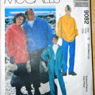MCall's 9082 Polar Gear pattern for fleece, unisex sizes small to large