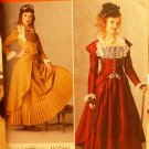 Simplicity 2172 pattern for Steampunk or Victorian dress gown costume sizes 14-20