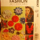 McCall's Fashion accessories 6047 m6047 millinery flowers pattern