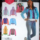 Simplicity 1940 pattern hoodies, jackets w/ hoods, made with love by Sara sizes 4-16