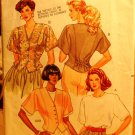 1990 Butterick Fast & Easy pattern 4660 for tops sizes 14-18