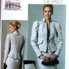 Vogue V8677 Divine Details pattern 8677 contemporary Trachtenmode dress suit size 6-12