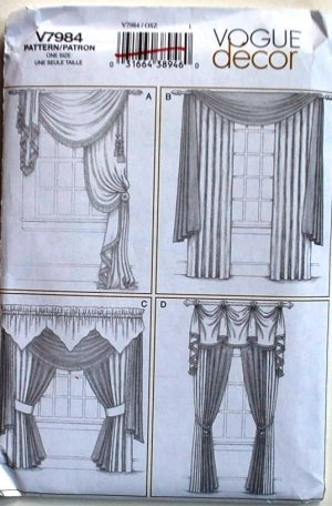 Curtain Sewing Pattern | Integralbook.com