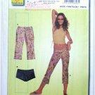 Burda 8606 pattern hot pants or daisy dukes, and hipster pants