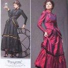 Simplicity 2207 pattern Arkivestry Steampunk costume dress pattern size 6-12
