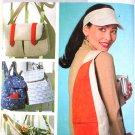 Butterick b4147 or 4147 pattern for knapsack, backpack, shoulder bag, messenger bag, fisherman's bag