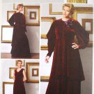 Butterick b5405 or 5405 Making History Art Nouveau Early Downton Abbey dress pattern size 6-12