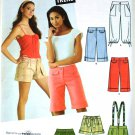 Simplicity 3849 Jr. Trend shorts, capris, and knickers pattern size 11/12 to 15/16 pattern