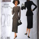 Vogue v1019 or 1019 Vintage 1947 dress suit pattern 1019 size 6-12, 1940s