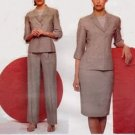 Vogue 2461 Anne Klein American designer pattern jacket skirt pants 12-16