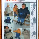 Burda 9903 childrens' winter suits or jacket pattern for sizes 3 months to 18months