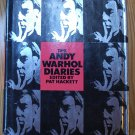 Andy Warhol's Diaries. First hardcover edition from Warner Books, first printing, 1989