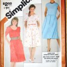 Vintage 1981 Simplicity 5374 dress pattern, early 1980s fashion