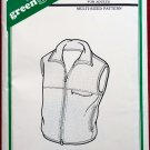 Green Pepper F776 Polar vest pattern for adults, multi sized