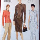 Vogue 9698 pattern for Mandarin collar style tops, pants, skirt