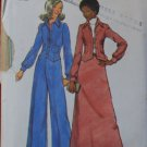 Simplicity 5866 vintage 1973 pattern for jacket, skirt and pants, bust 32.5 inches