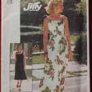 Simplicity 7519 vintage 1976 pattern knit dress size 16-18, partially cut
