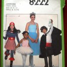 Simplicity 8222 vintage 1977 pattern for kid's costumes