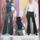 Vogue v2907 2907 Alice + Olivia pattern for low slung slacks pants size 16-20